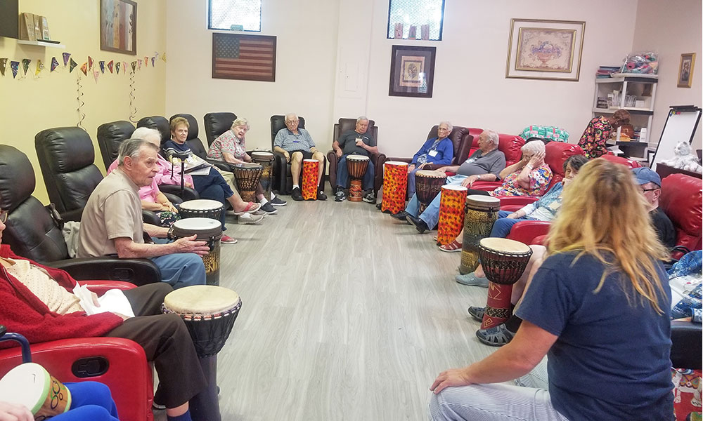 right-choice-adult-care-drum-therapy